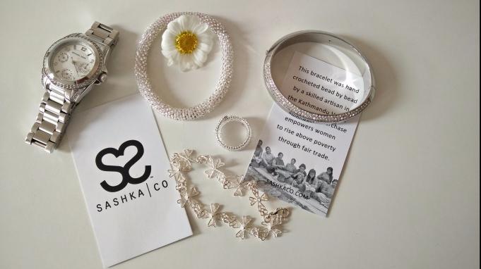 Sashka Bracelet in silver