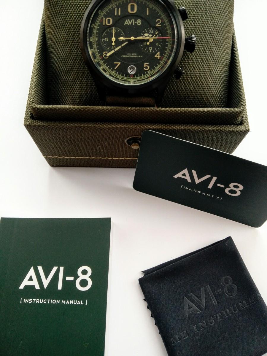 AVI-8 Flyboy Lafayette Av 4054-03. New Labels Only Unboxing